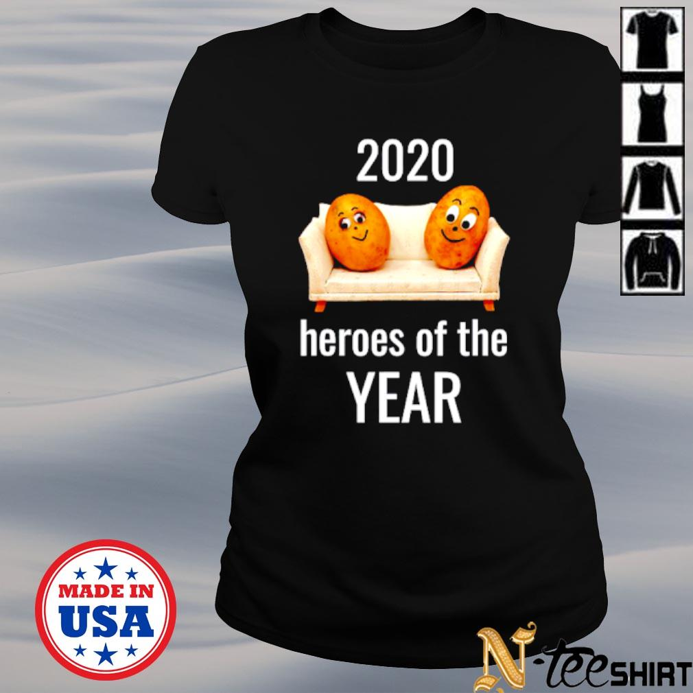 Couch Potato heroes of the year 2020 s ladies-tee