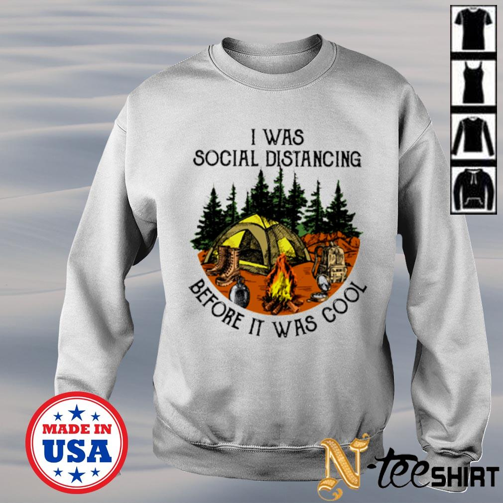 I was social distancing before it was cool s sweater