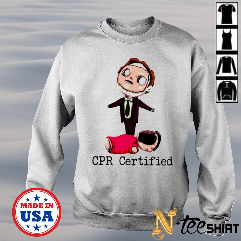 Dwight Schrute First Aid Cpr Certified sweater