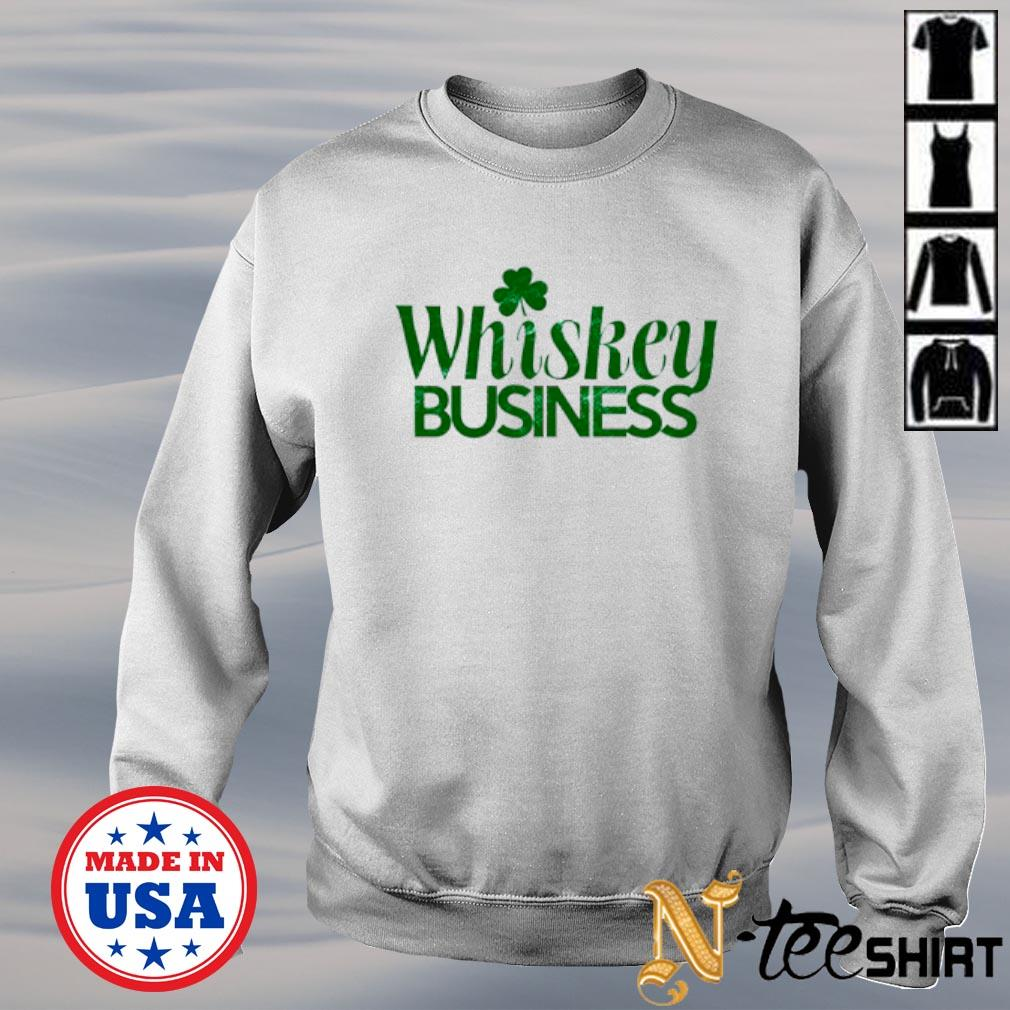 Whiskey Business St. Patricks Day sweater