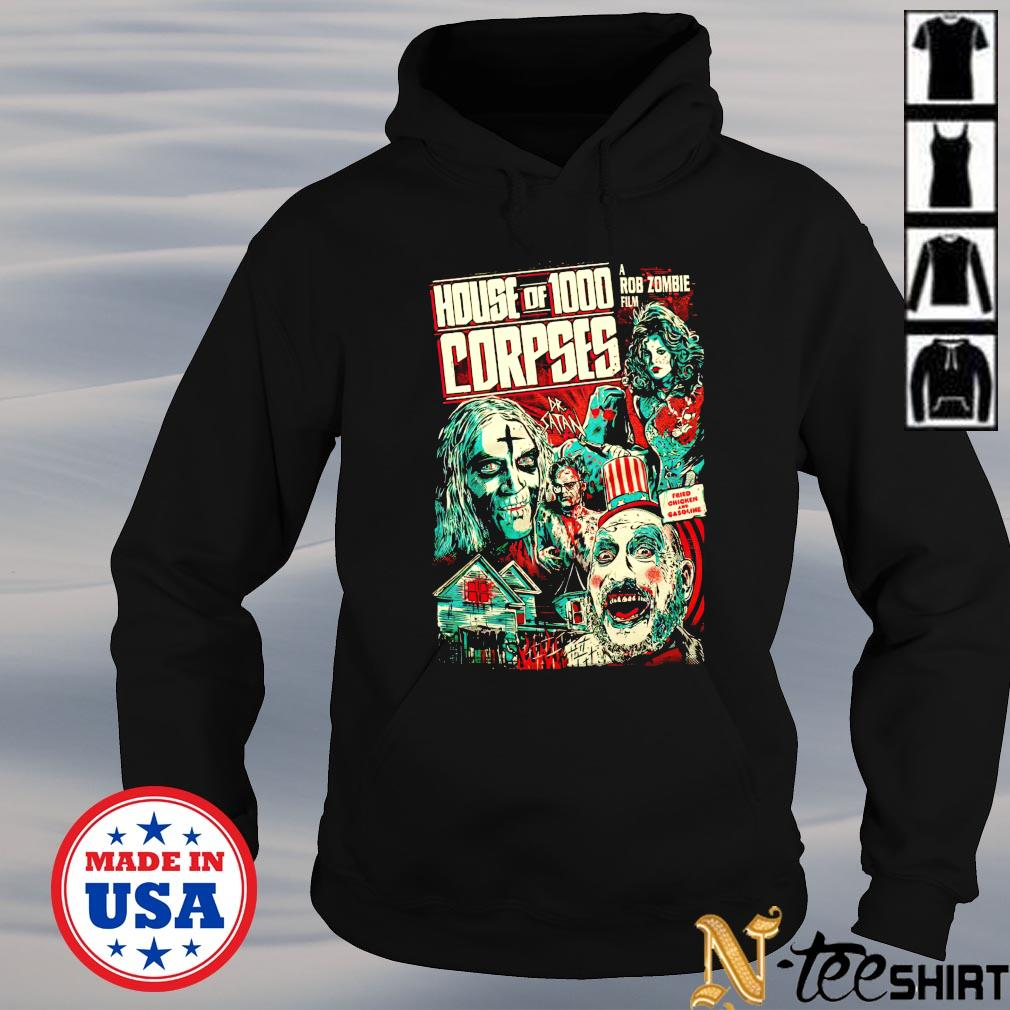 House of 1000 a Rob Zombie Corpses hoodie