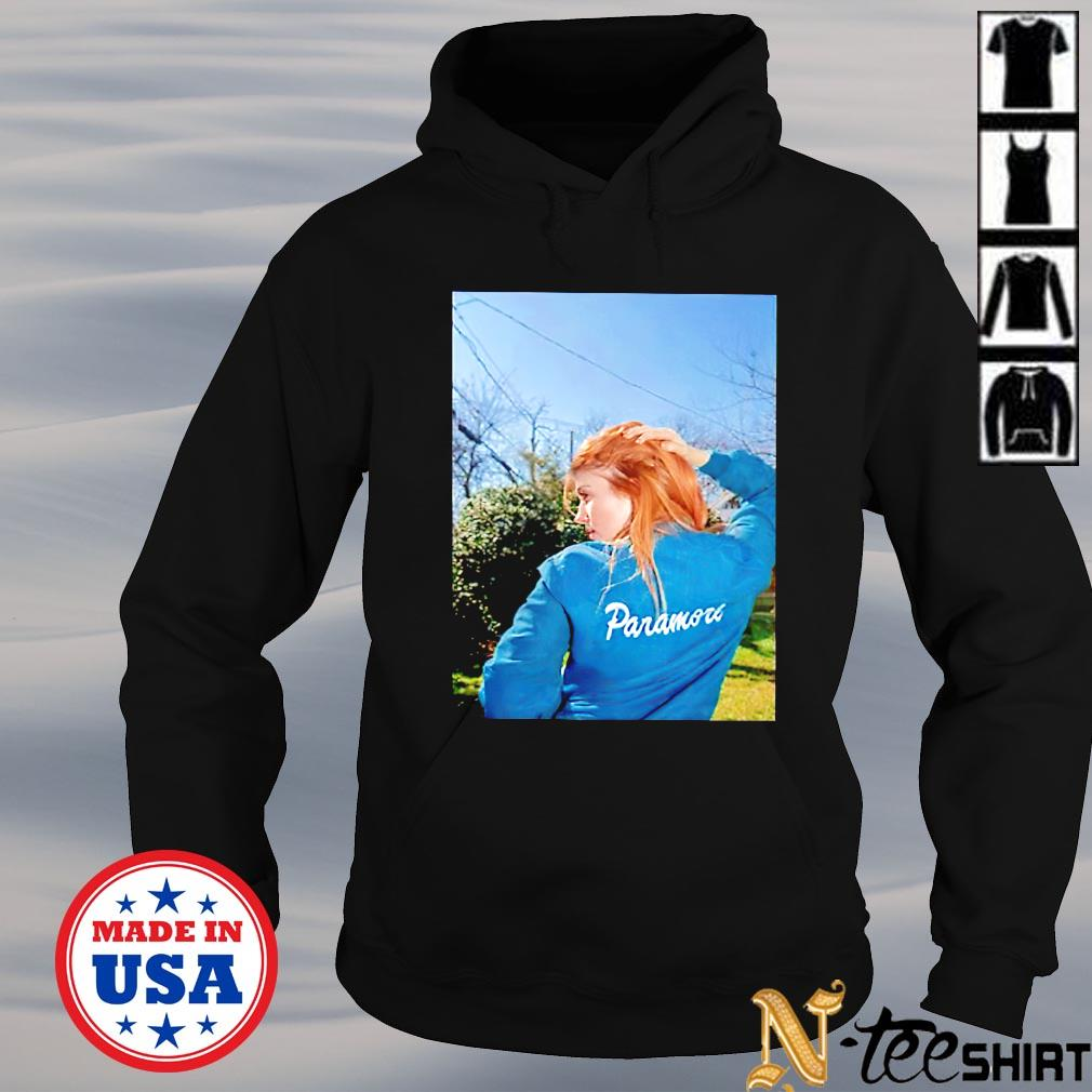 Hayley Williams tiny hot topic bitch hoodie