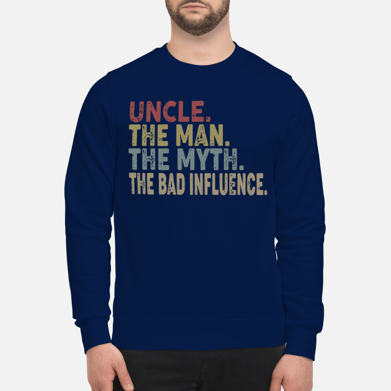 Uncle the man the myth the legend Sweater