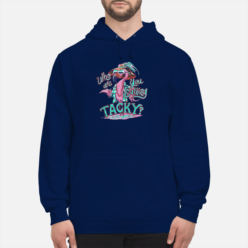 Flamingo who are you calling Tacky Hoodie
