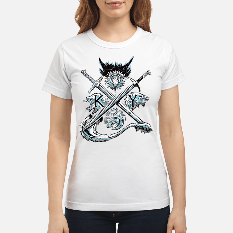 Game of Thrones house Lannister unbowed winter is coming Ladies Tee
