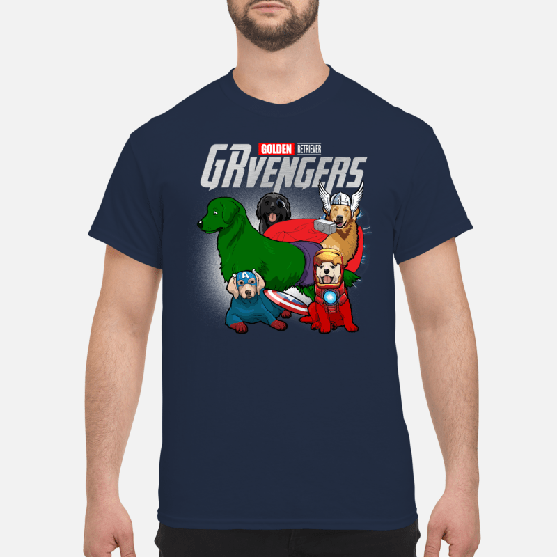 Official Marvel German Golden Shepherd GRvengers Shirt