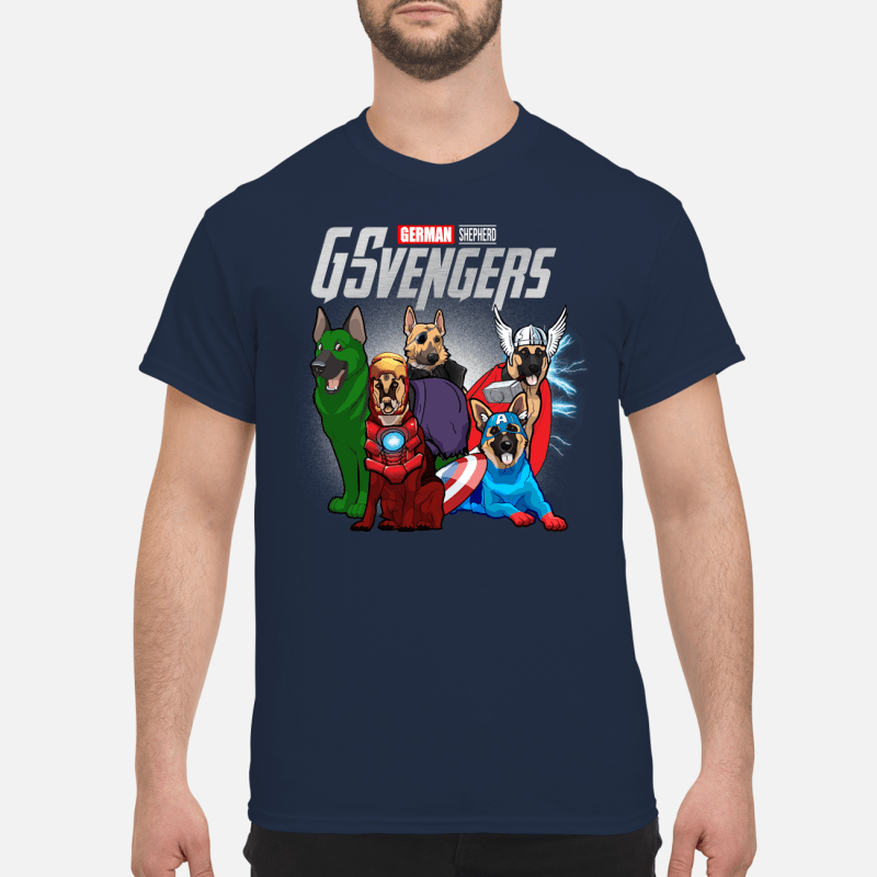 Official Marvel German Shepherd GSvengers Shirt