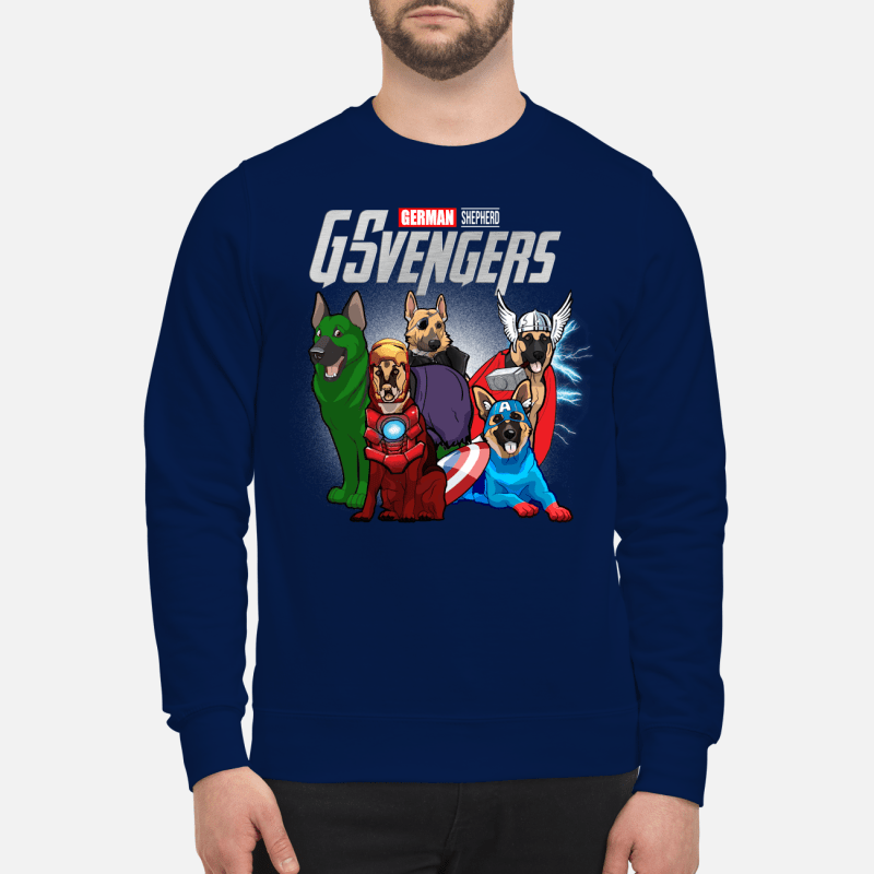 Official Marvel German Shepherd GSvengers Sweater