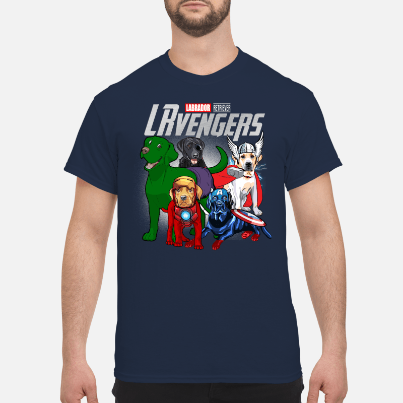 Official Marvel Labrador Retriever LRvengers Sweater