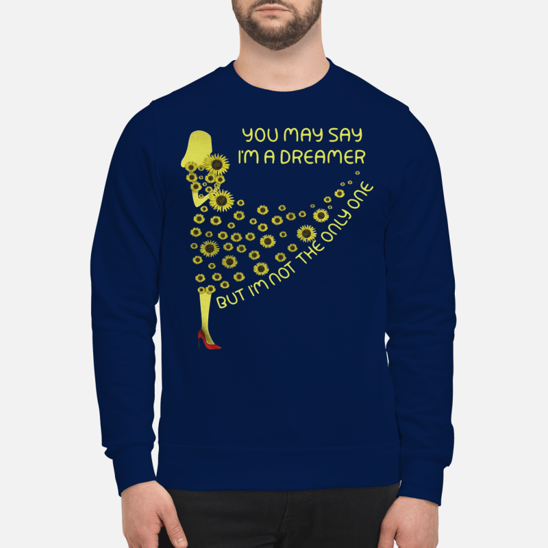 Sunflower Dress You May Say I'm A Dreamer Sweater