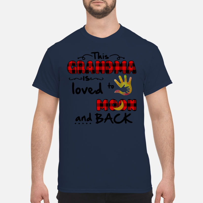 This Grandma is loved to the moon and back Shirt