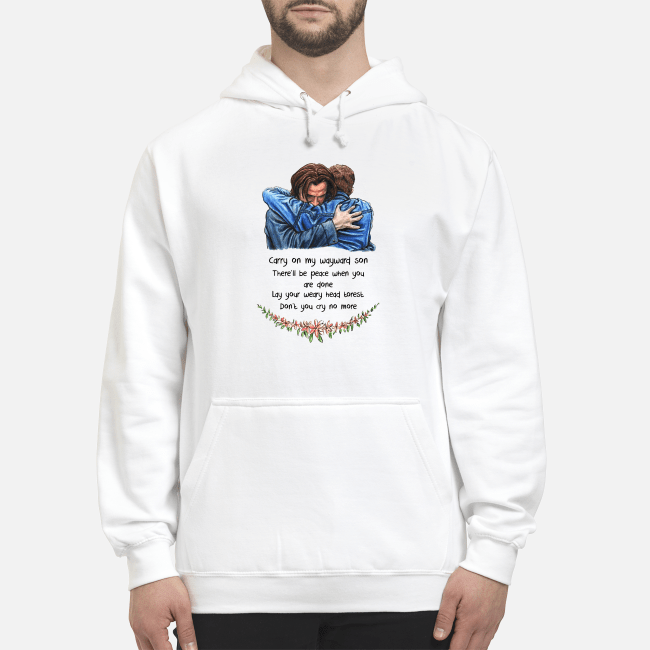 Jared Padalecki carry on my wayward son there'll be peace Hoodie