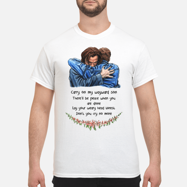 Jared Padalecki carry on my wayward son there'll be peace Shirt