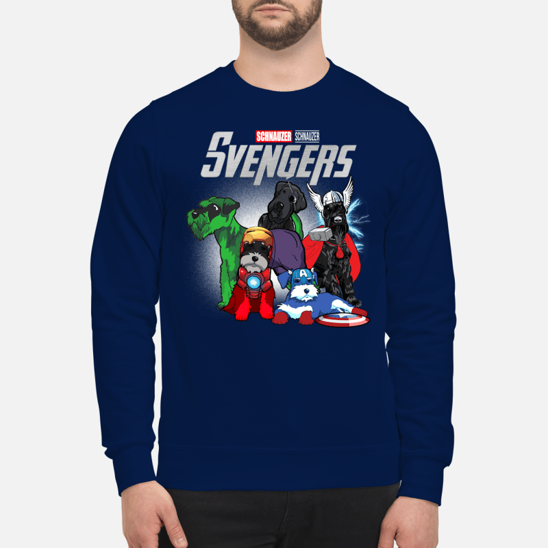 Official Marvel Schnauzer Schnauzer Svengers Sweater
