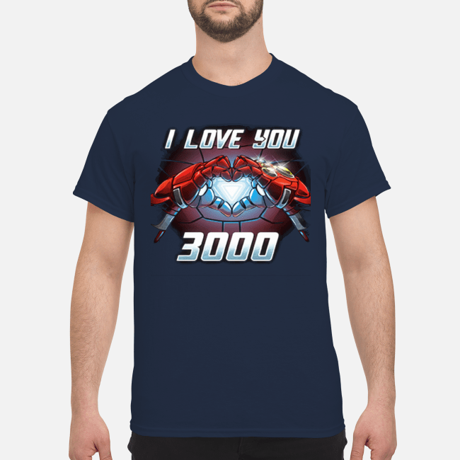 Avengers Endgame I love you 3000 Shirt