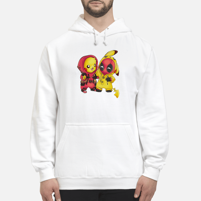 2ad3655c Best friends Pikachu and Deadpool shirt, sweater, hoodie, and v-neck ...