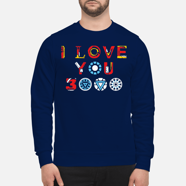 I love you 3000 Avengers Endgame Sweater