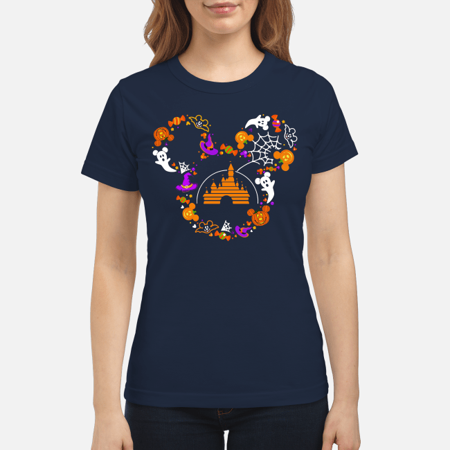 Halloween Walt Disney Mickey mouse Ladies Tee