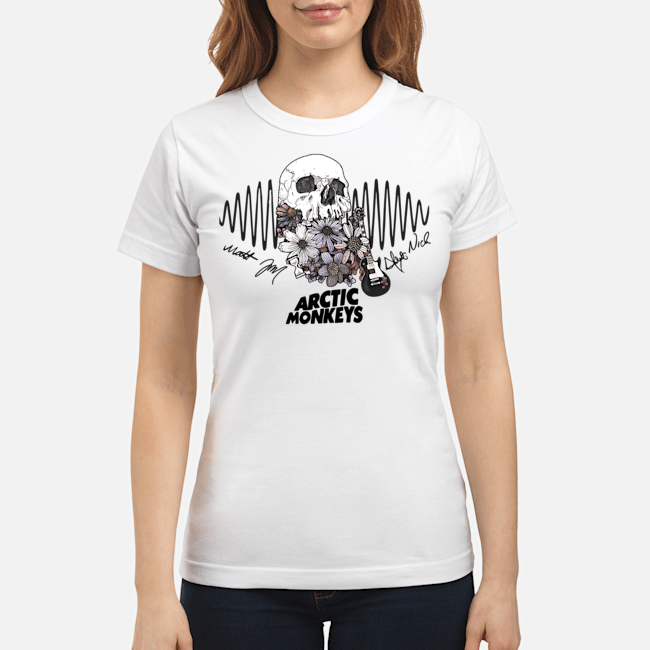 Official Arctic Monkeys Ladies Tee