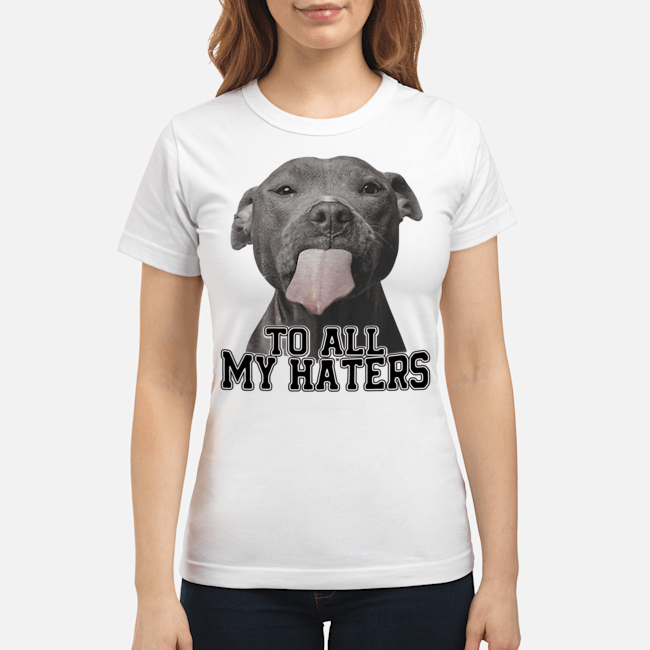 Official Pitbull Dallas Cowboys to all my haters Ladies Tee