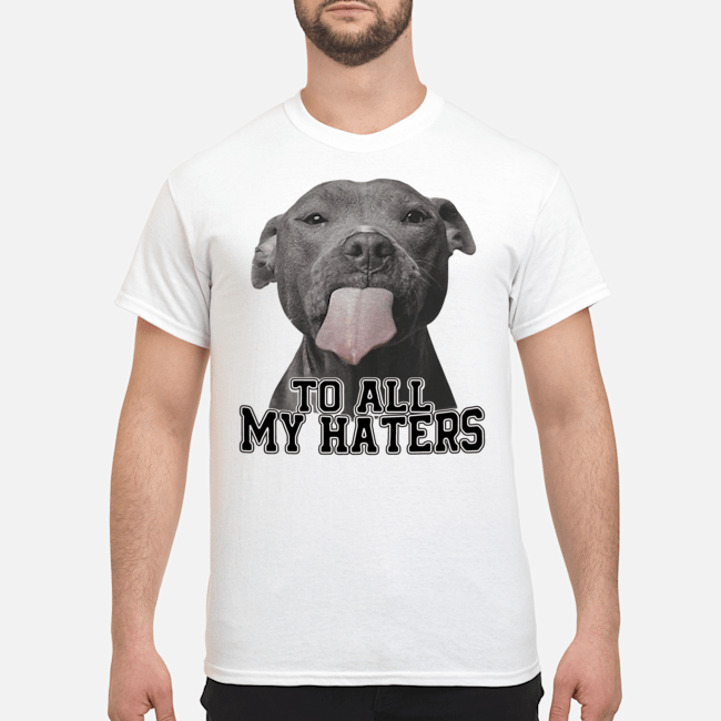 Official Pitbull Dallas Cowboys to all my haters Shirt
