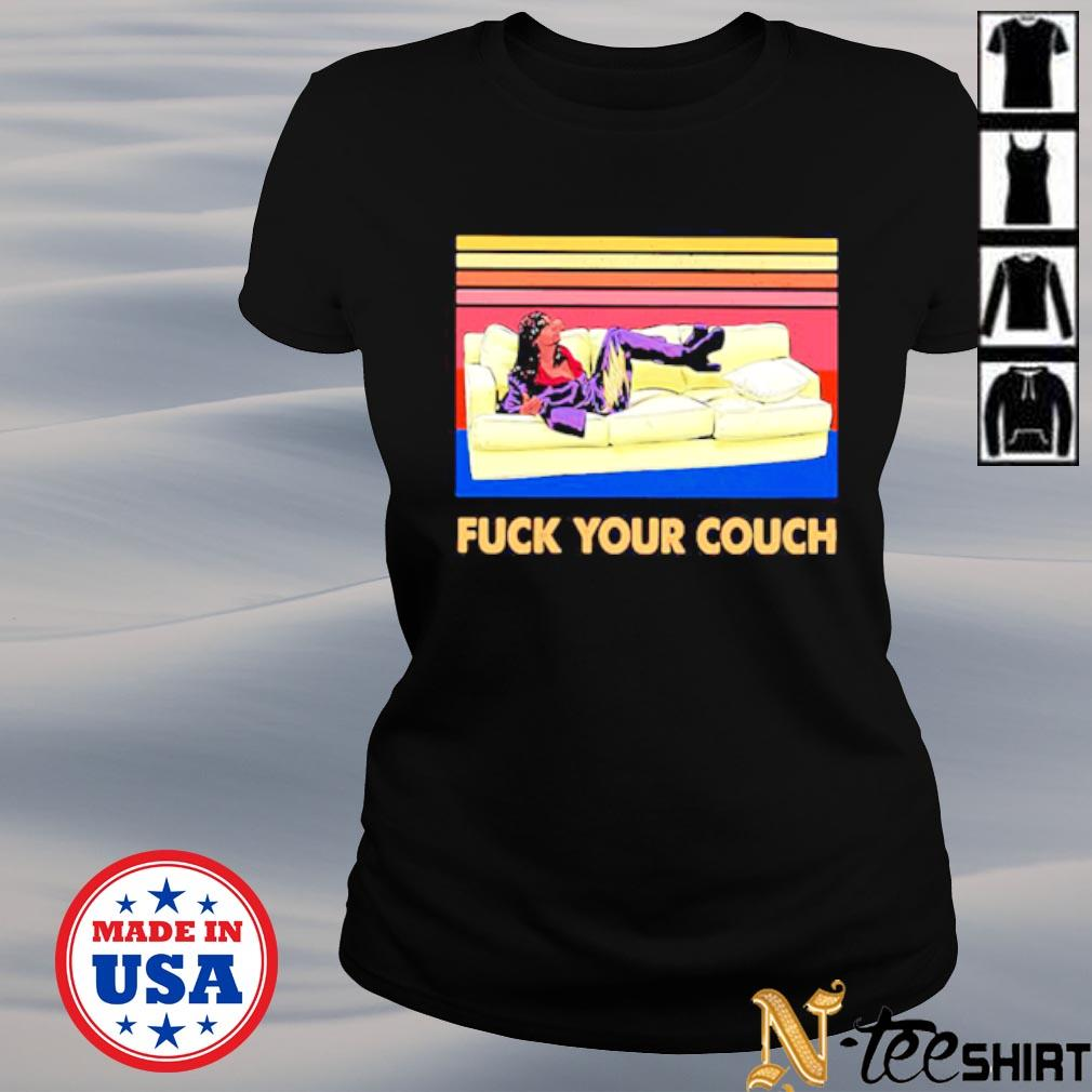 Chappelle show fuck your couch vintage s ladies-tee