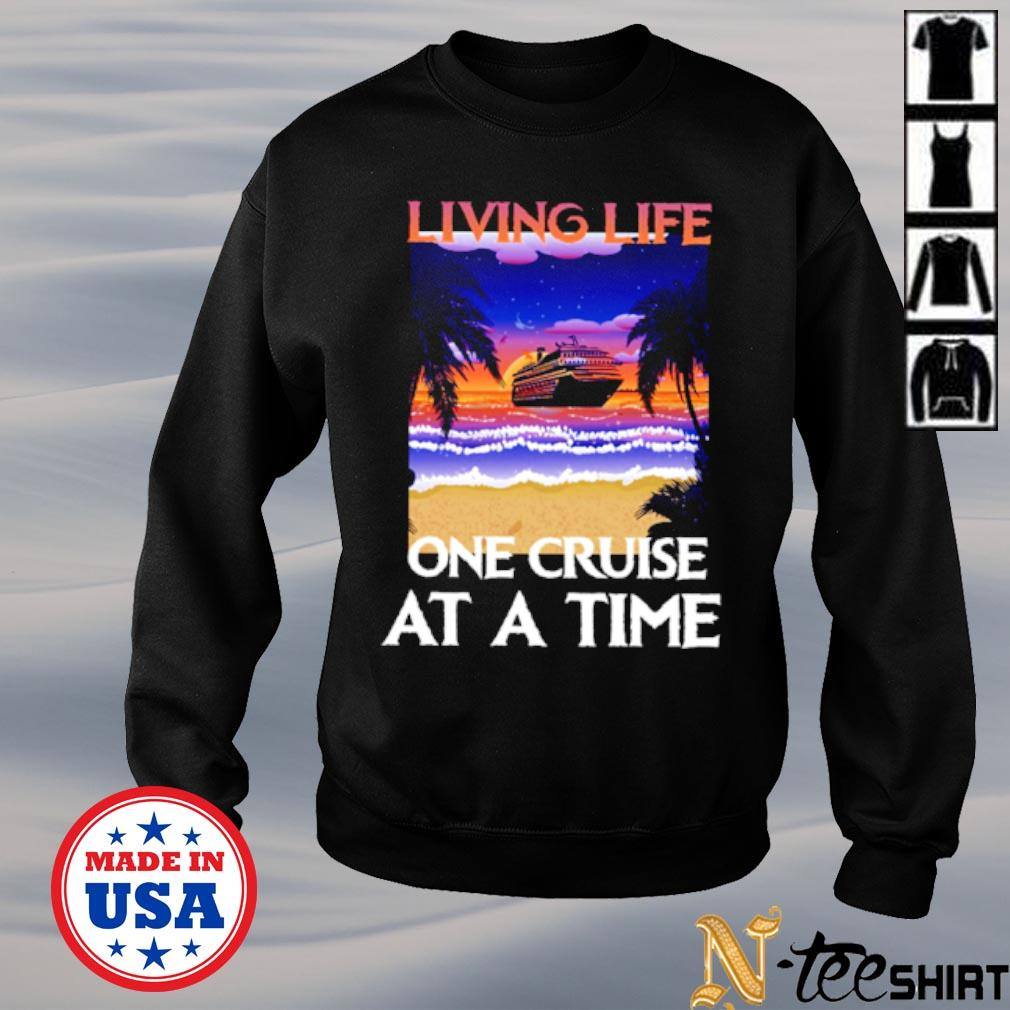 Living life one cruise at a time black s sweater