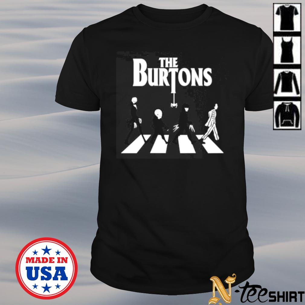 The Burtons Abbey road shirt