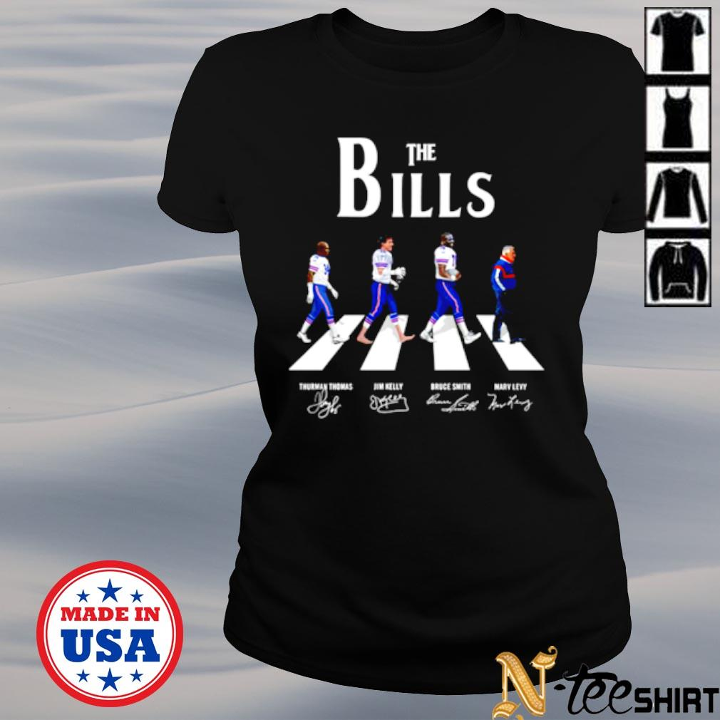 Abbey road The bills signatures s ladies-tee