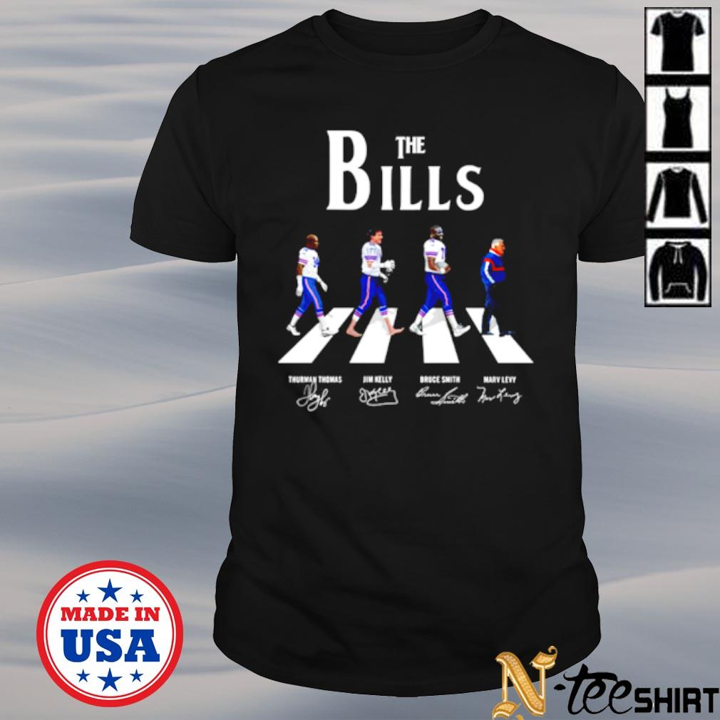 Abbey road The bills signatures shirt