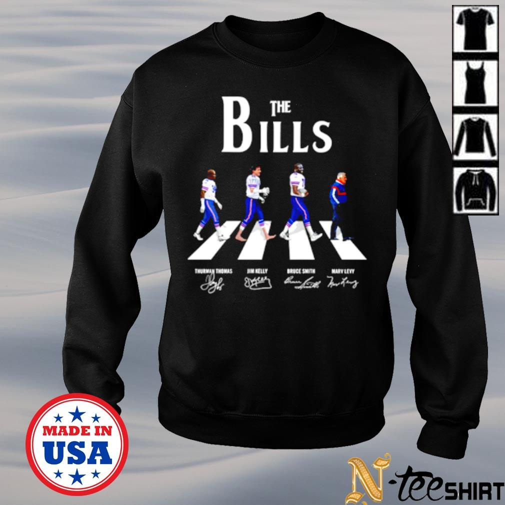 Abbey road The bills signatures s sweater