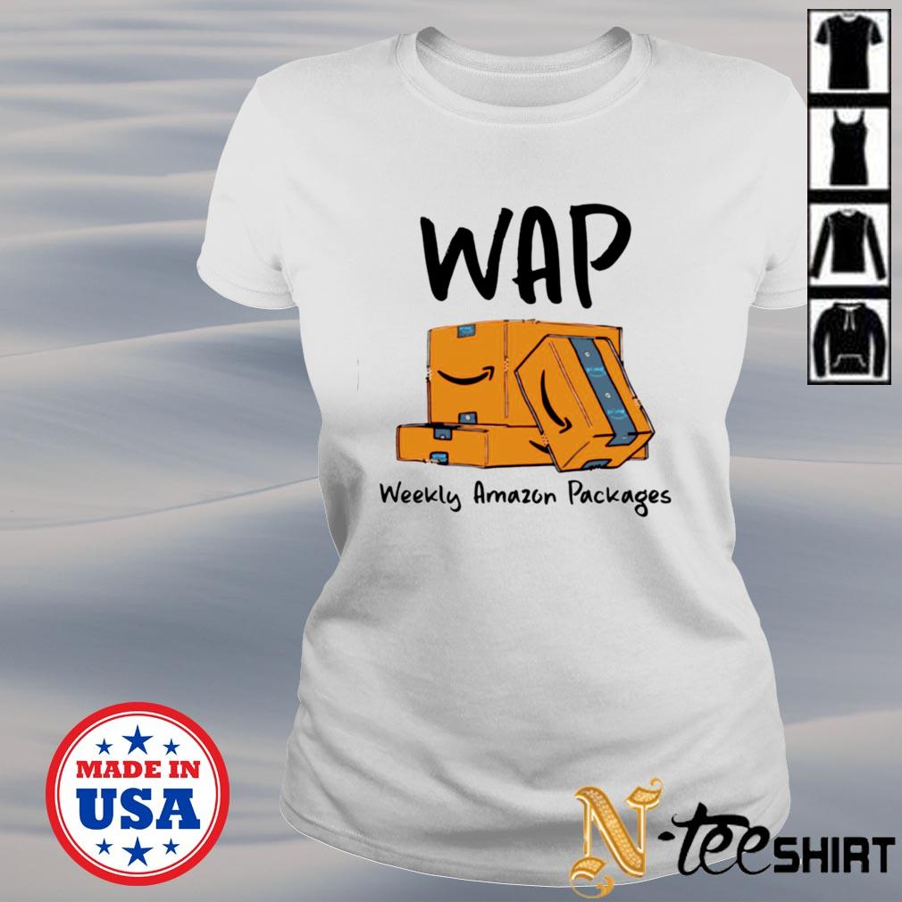 Wap weekly amazon packages s ladies-tee
