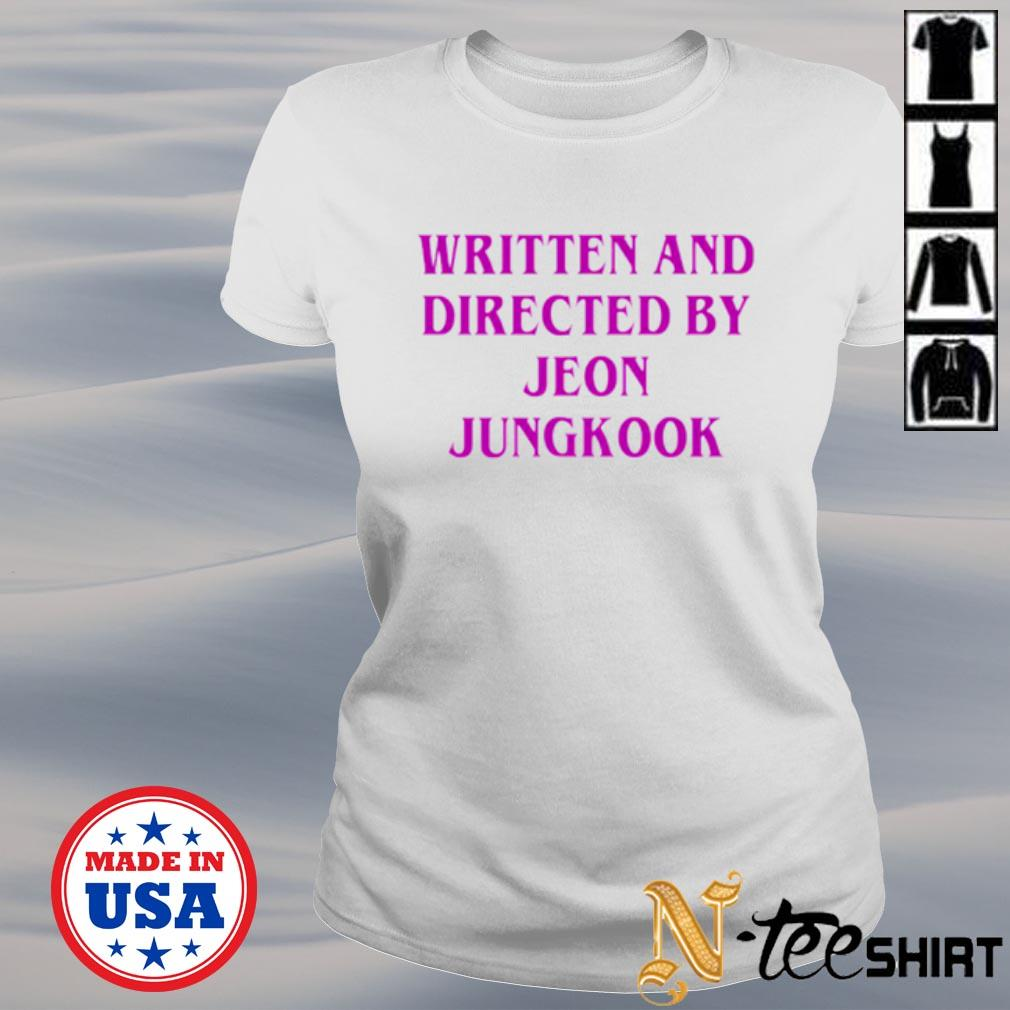 Written and directed by Jeon Jungkook s ladies-tee
